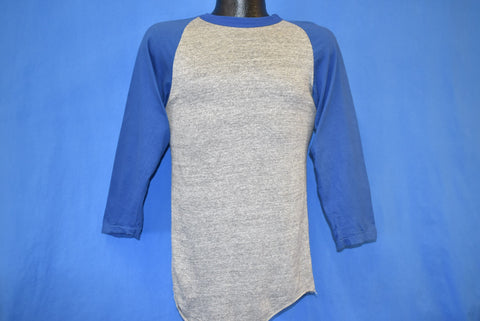80s Blank Rayon Tri Blend Heathered Jersey t-shirt Small