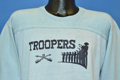 70s Troopers 11th Armored Calvary Regiment t-shirt Large