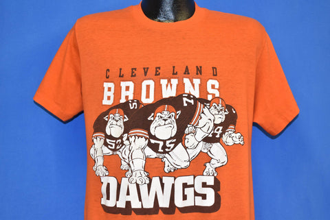 80s Cleveland Browns Dawgs t-shirt Large