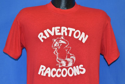 80s Riverton Elementary Racoons t-shirt Medium