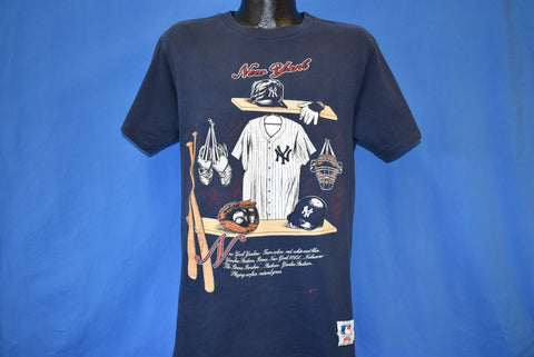 90s New York Yankees MLB Baseball Locker Room t-shirt Large