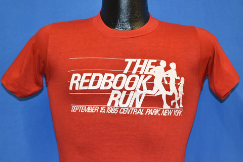 80s Redbook Run Central Park NYC 1985 NYRR t-shirt Extra Small