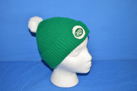 70s New York Jets Bobble Winter Hat