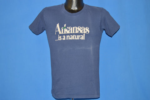70s Arkansas Is A Natural t-shirt Small