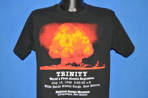 90s Trinity Worlds First Atomic Explosion Museum t-shirt Medium