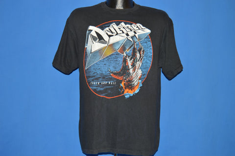 80s Dokken Tooth And Tail 1984-85 Tour t-shirt Large