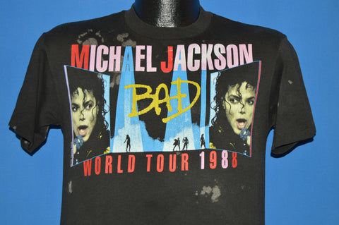 80s Michael Jackson Bad World Tour t-shirt Medium
