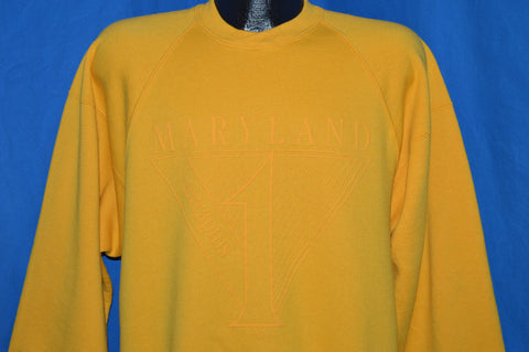 90s Maryland Terrapins Crewneck Sweatshirt Large