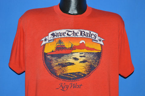 70s Save The Bales Key West Florida t-shirt Extra Large