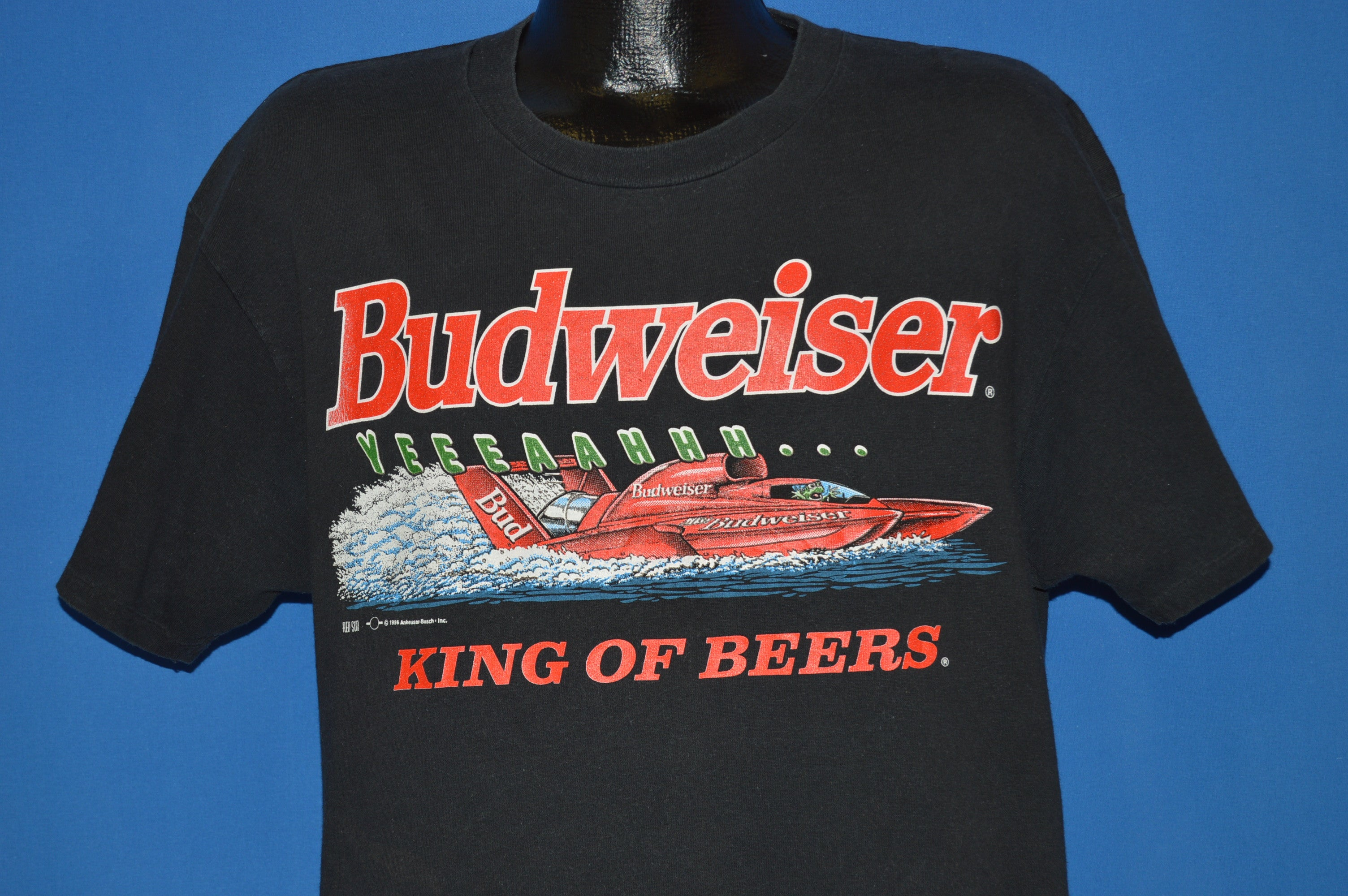 aa47e3919 90s Budweiser Frogs This Bud's For You t-shirt Large - The Captains ...