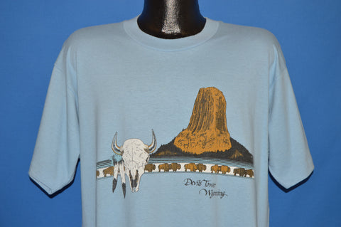 90s Devils Tower Wyoming t-shirt Extra Large