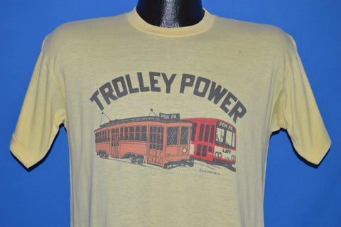 70s Pittsburgh Trolley Power t-shirt Medium