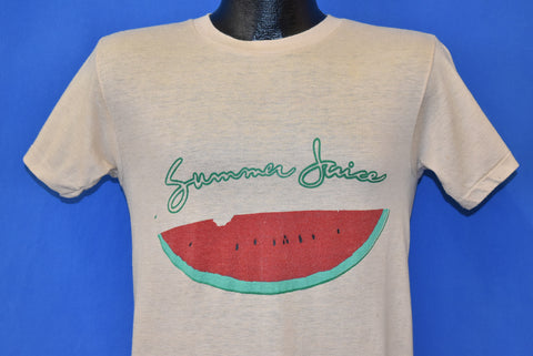 70s Watermelon Slice Summer Juice t-shirt Small