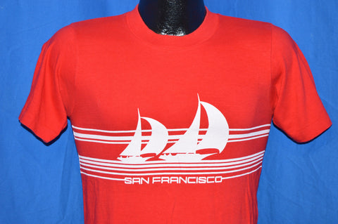 80s San Francisco Sailboat Crazy Shirt t-shirt Small