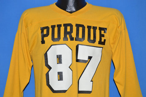 80s Purdue University Boilermakers 1987 Jersey t-shirt Medium