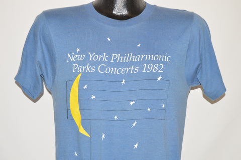 80s New York Philharmonic Parks Concerts t-shirt Small