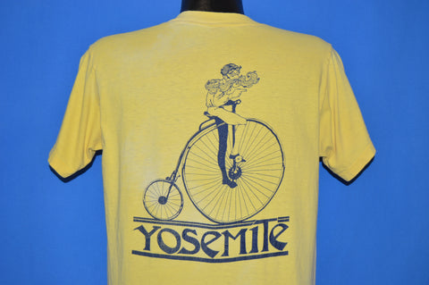 70s Yosemite National Park Penny Farthing t-shirt Large