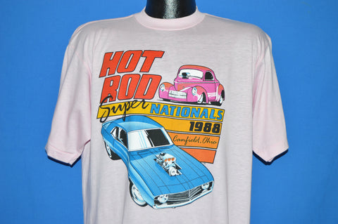 80s Hot Rod 1988 Super Nationals t-shirt Extra Large