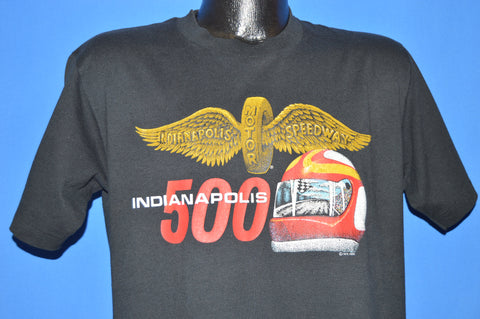 80s Indianapolis 500 Racing Helmet t-shirt Large
