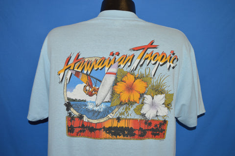 80s Hawaiin Tropic Wind Surfing t-shirt Large