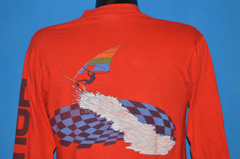 80s Hawaii Windsurfing Pocket t-shirt Medium