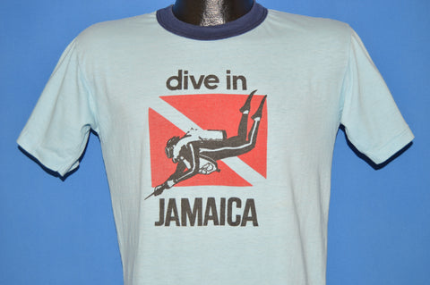 70s Dive In Jamaica Diving Tourist t-shirt Medium