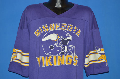 80s Minnesota Vikings Jersey t-shirt Extra Large