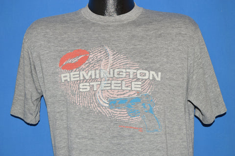 80s Remington Steele TV Show t-shirt Large