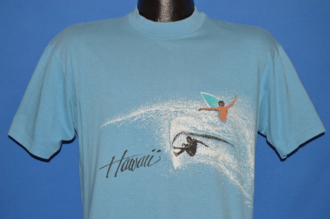80s Hawaii Surfing Wrap Around t-shirt Medium