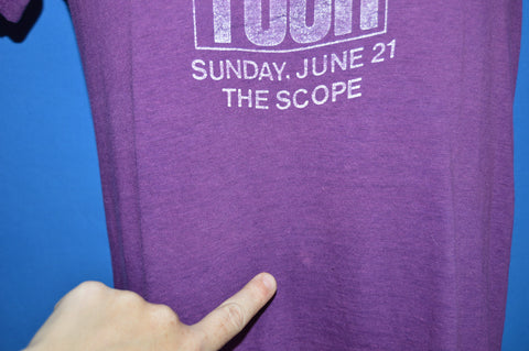 80s Def Jam Tour 1987 The Scope t-shirt Small
