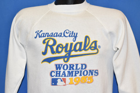 80s Kansas City Royals 1985 World Champions Sweatshirt Small