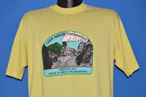 80s NRHS Convention Asheville North Carolina t-shirt Large