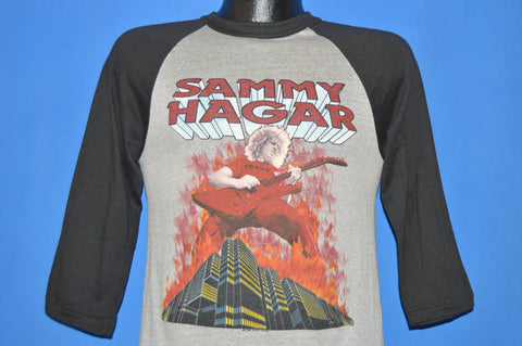 80s Sammy Hagar Red Rocker 1983 Tour shirt Small