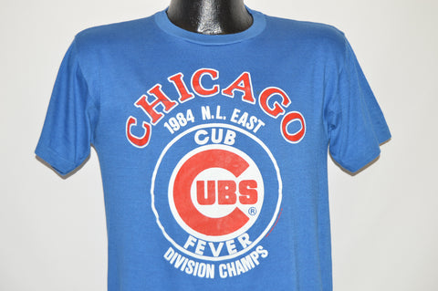 80s Chicago Cubs Fever 1986 Division Champs t-shirt Medium