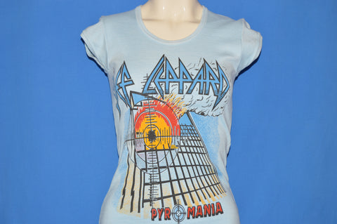 80s Def Leppard Pyromania Album Women's t-shirt Small