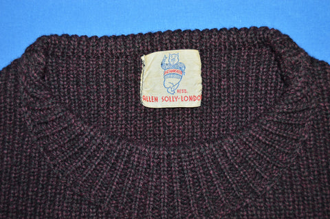 50s Pig's Whisker Allen Solly London Yachting Sweater Large