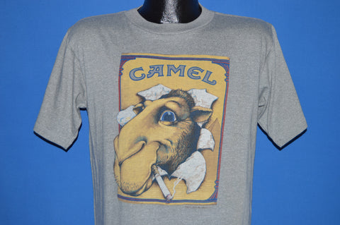 80s Joe Camel Cigarettes Rayon t-shirt Large