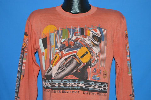 80s Daytona 200 Motorcycle Race 1984 t-shirt Medium