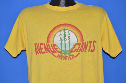 80s Avenue of the Giants Marathon t-shirt Large