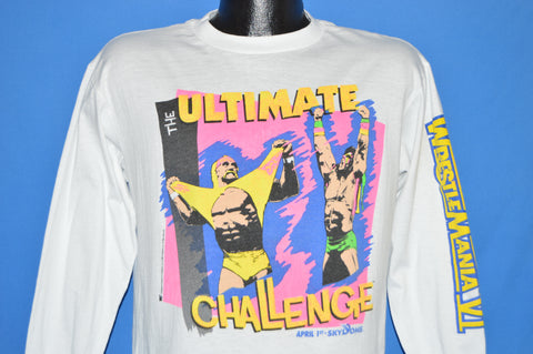 90s Wrestlemania VI Hulk Hogan Ultimate Warrior t-shirt Medium