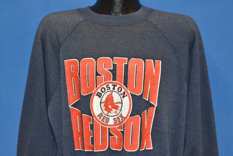 80s Boston Red Sox Distressed Sweatshirt Large