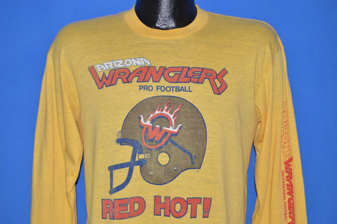 80s Arizona Wranglers Pro Football Red Hot t-shirt Medium