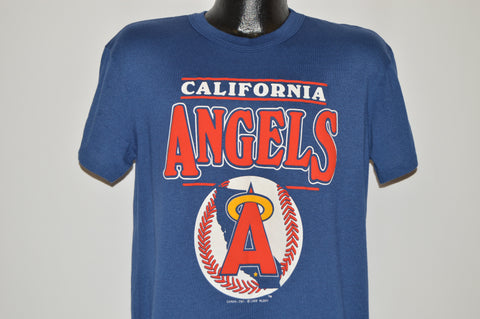 80s California Anaheim Angels Logo t-shirt Large