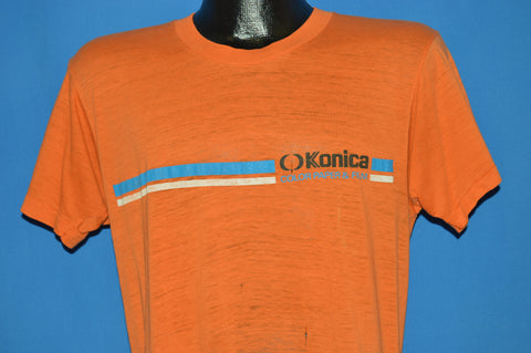 80s Konica Color Paper And Film Distressed t-shirt Medium