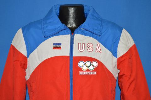 80s Levis 1980 Lake Placid Winter Olympic Games Jacket Medium