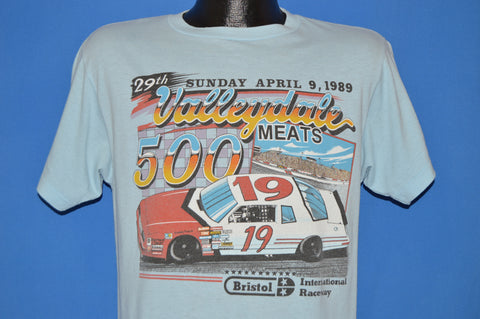 80s Valleydale Meats 500 Bristol Raceway t-shirt Medium