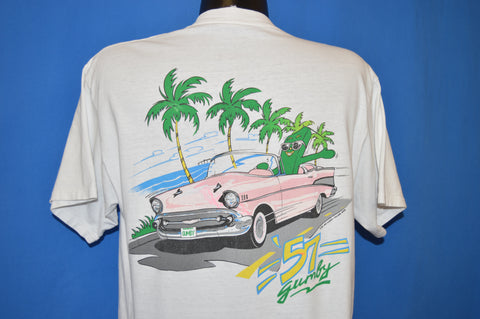 80s Gumby 57 Chevy t-shirt Large