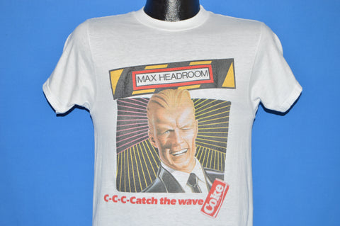 80s Max Headroom C-C-C-Catch The Wave t-shirt Small