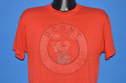 80s DCGNY Dalmatian Club Distressed t-shirt Large