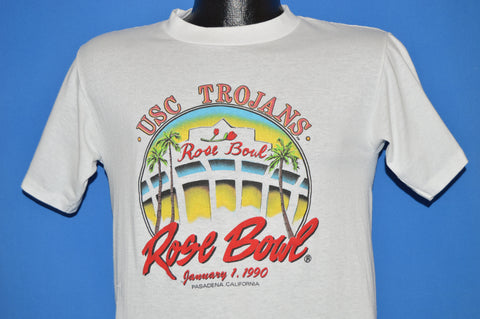 90s USC Trojans Rose Bowl 1990 College t-shirt Small